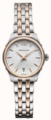 Hamilton Womans jazzmaster kwarcowy dwukolorowy H42221155