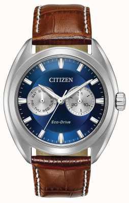 Citizen Męski eco-drive, niebieska tarcza paradex BU4010-05L
