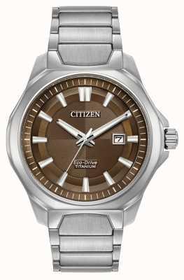 Citizen Męski, ekologiczny, super-tytanowy zegarek z tarczą AW1540-88X