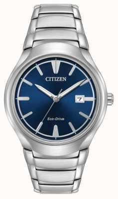 Citizen Męski niebieski paradygmat eco-drive AW1550-50L