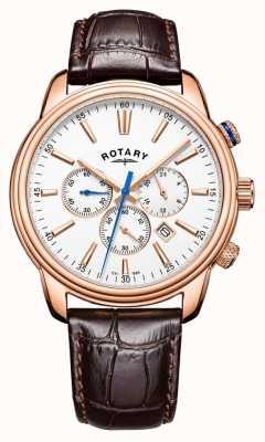 Rotary Męskie sportowe zegarki chronograf monaco GS05084/06
