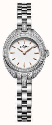 Rotary Womans drobna kamienna bransoletka srebrna LB05087/02