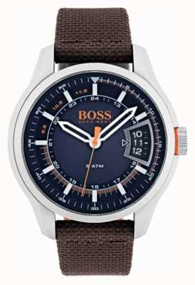 Hugo Boss Orange Mens hong kong brown pasek 1550002