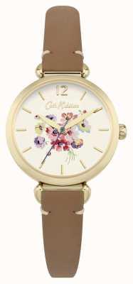Cath Kidston Womans kwiatowy brązowy wybierania CKL015TG