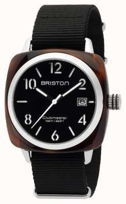Briston Męski clubmaster klasyczny octan hms żółw czarny 16240.SA.T.1.NB