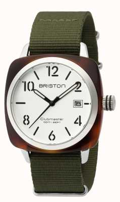 Briston Mens clubmaster classic octan hms żółw biały shell 16240.SA.T.2.NGA