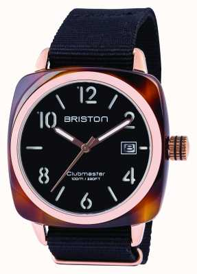 Briston Mens clubmaster classic octanowy czarny 13240.PRA.T.1.NB