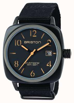 Briston Mens clubmaster classic octan hms czarny matowy 14240.PBAM.B.4.NB