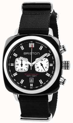 Briston Mens clubmaster sport octo chrono czarny 17142.SA.BS.1.NB