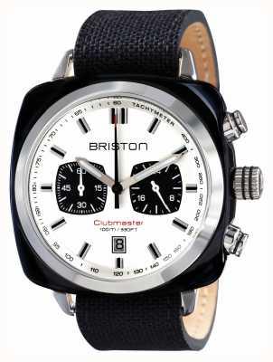 Briston Mens clubmaster sport octo chrono czarny 15142.SA.BS.2.LSB