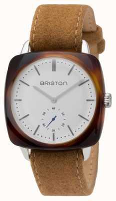 Briston Mens clubmaster rocznik octanu mały drugi skorupa żółwia 16440.SA.TV.2.LFCA