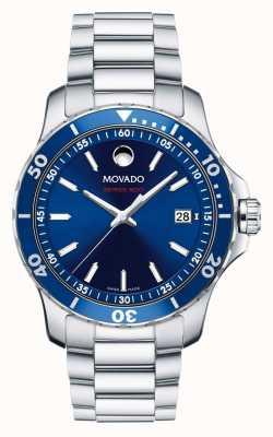 Movado Męskie serie 800 zegarków sportowych ze stali nierdzewnej 2600137