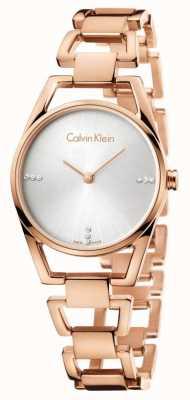 Calvin Klein Womans delikatny różany pozłacany K7L2364T