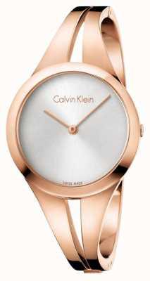 Calvin Klein Womans uzależniony bransoleta z różowego złota K7W2M616