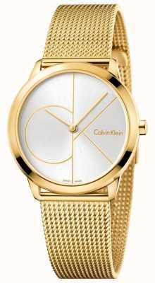 Calvin Klein Womans minimalny złoty stonowanych oczek K3M22526