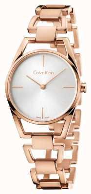 Calvin Klein Womans delikatny różany pozłacany K7L23646