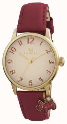 Radley Pasek skórzany w stylu burgundii Womans RY2250