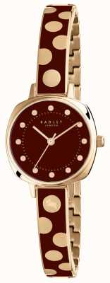 Radley Womans kennington spot emalia burgund RY4274