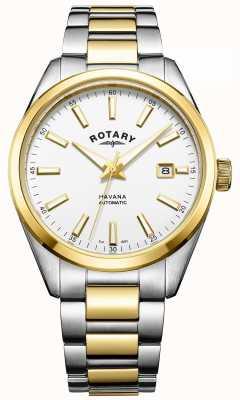 Rotary Męska havana automatyczna dwubarwna GB05078/02