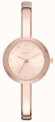 DKNY Womans murray rose stonowanych zegarek bransoletka NY2600