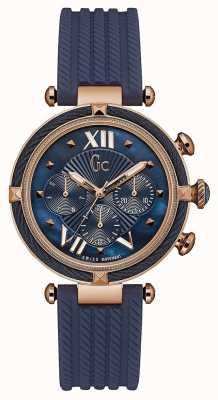 Gc Womans cablechic multi-dial blue Y16005L7
