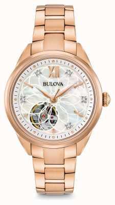 Bulova Automatyczny zegarek damski z diamentem 97P121
