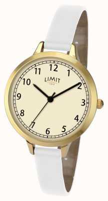 Limit Damskie białe klasyczne 6230