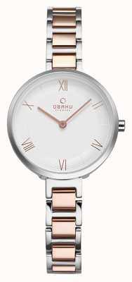 Obaku Womans vand peach zegarek V195LXCISV