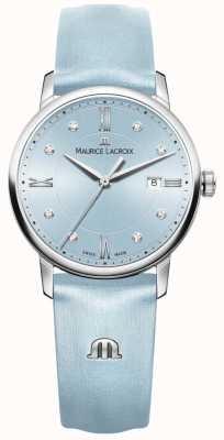 Maurice Lacroix Womans eliros osiem diamentów niebieskich EL1094-SS001-550-1