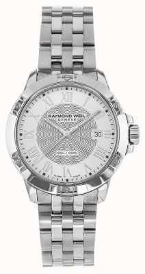 Raymond Weil Srebrny stalowy kwarc męski tango 8160-ST-00658