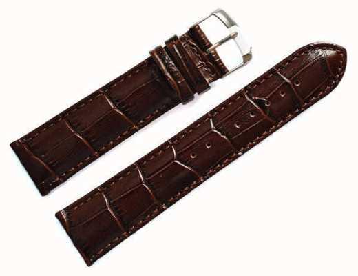 Morellato Tylko pasek - samba aligator cielę brązowy 20mm A01X2704656032CR20