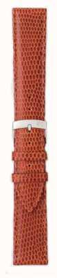 Morellato Tylko pasek - jaszczurka ibiza cielę brązowy / czerwony 16mm A01X3266773041CR16