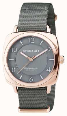 Briston Unisex klubmaster chic szaro pvd różowe złoto 17536.SPRG.L.17.NG