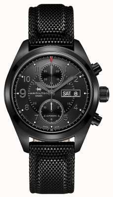 Hamilton Khaki field auto chrono * zegarek tom clancy's jack ryan * H71626735