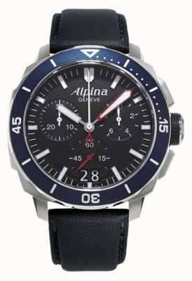 Alpina Mężczyzna seastrong diver 300 big data AL-372LBN4V6