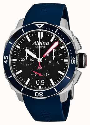Alpina Męski Seastrong Diver 300 Big Date AL-372LBN4V6