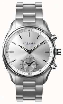 Kronaby Pasek zegarka 43mm ze stali nierdzewnej bluetooth A1000-0715