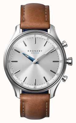 Kronaby 38-calowy zegarek sportowy ze stali nierdzewnej A1000-0658