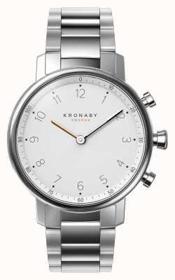 Kronaby Bransoletka zegarka 38 mm nord bluetooth ze stali nierdzewnej A1000-0710