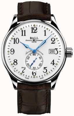 Ball Watch Company Standardowy chronometr czasu dla mężczyzn NM3888D-LL1CJ-WH