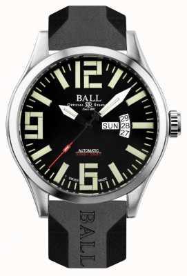 Ball Watch Company Mężczyzna inżynier mistrz ii lotnik NM1080C-P14A-BK