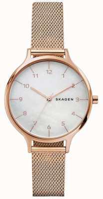 Skagen Womans anita bransoleta z różowego złota ze stali nierdzewnej SKW2633