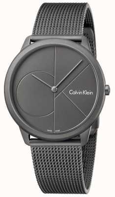 Calvin Klein Męska minimalistyczna szara bransoleta ze stali nierdzewnej K3M517P4