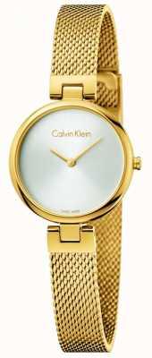 Calvin Klein Womans autentyczna, pozłacana stalowa bransoleta z pvd K8G23526