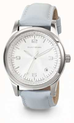 Elliot Brown Womans kimmeridge lodowo-niebieski skórzany zegarek 405-002-L55