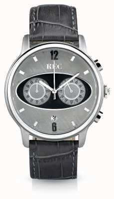 REC Mark 1 m2 szary skórzany pasek chronograf M2