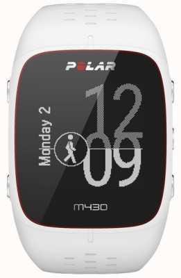 Polar Zegarek sportowy z białego gumy M430 90064407