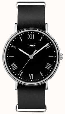 Timex Męskie southview 41mm czarna tarcza czarny pasek TW2R28600