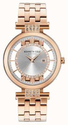 Kenneth Cole Taśma z przezroczystego złota ze stali nierdzewnej KC15005004
