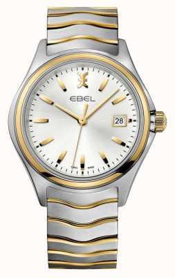 EBEL Męski dwubarwny złoty zegarek Wave 1216202